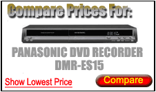 Compare Prices for Panasonic Dvd Recorder DMR-ES15