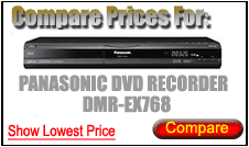 Compare Prices for Panasonic Dvd Recorder DMR-EX768