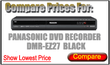 Compare Prices for Panasonic Dvd Recorder DMR-EZ27 Black