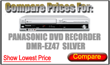 Compare Prices for Panasonic Dvd Recorder DMR-EZ47 Silver