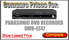 Compare Prices for Panasonic Dvd Recorder DMR-EZ47
